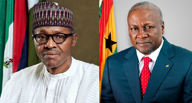 Buhari, Mahama Agree To Strengthen Bilateral Relations And Improve Regional Security