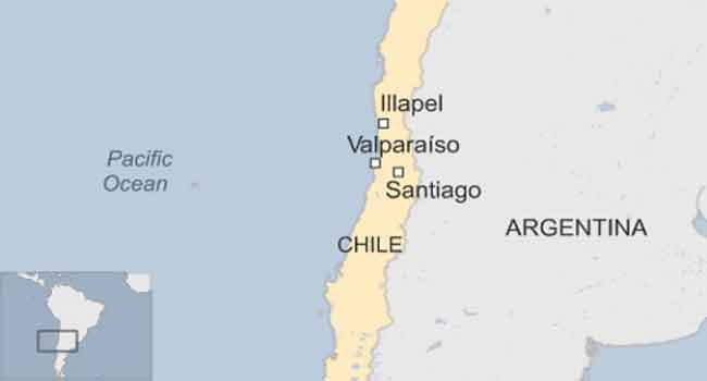 Chile Quake Triggers Mass Evacuation And Tsunami Alert