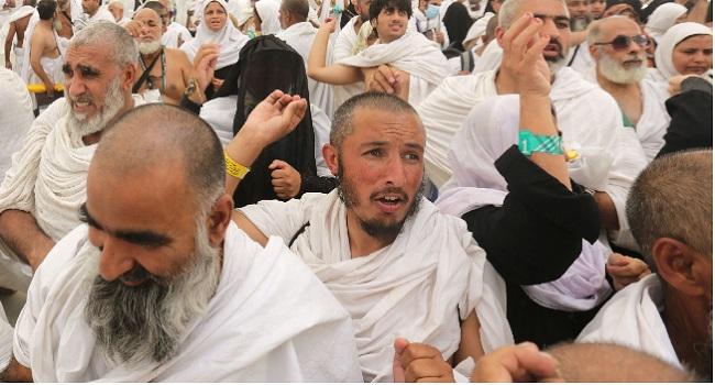 Muslims Gather At Mount Arafat