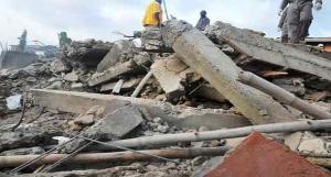 Three Escape Death In Ilorin Building Collapse