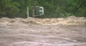 Australia Flood, Rainfall