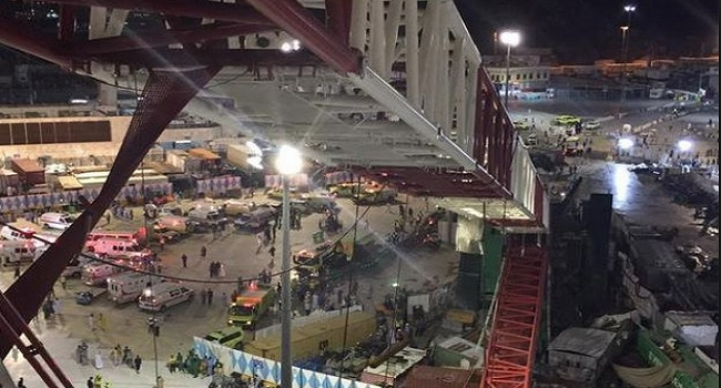 Three Nigerians Injured In Saudi Crane Collapse