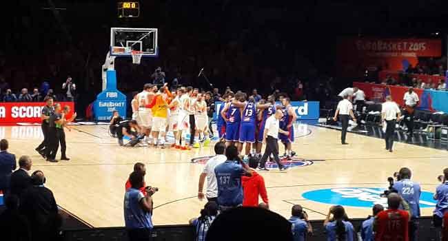Spain Wins Eurobasket