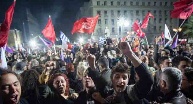 Syriza Party Wins Greece Elections