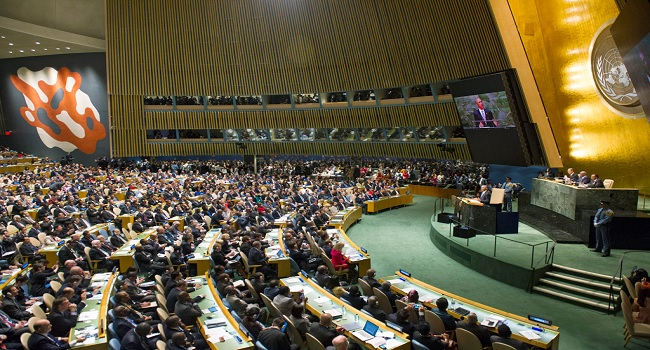 UN General Assembly Opens In New York