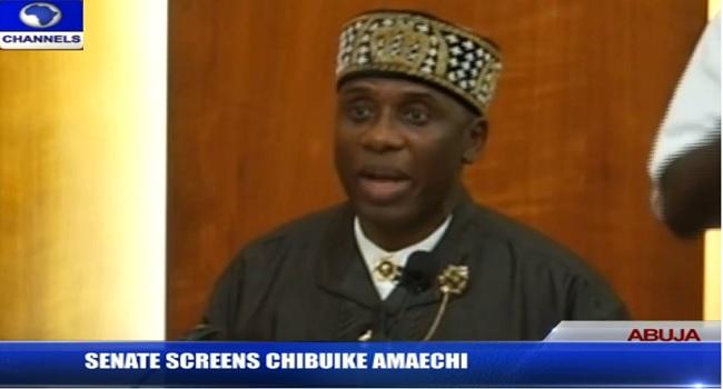 Read How PDP Senators Became Dumb During Rotimi  Amaechi's Screening