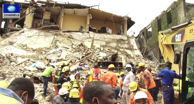 Eight Dead, 15 Rescued In Lagos Building Collapse