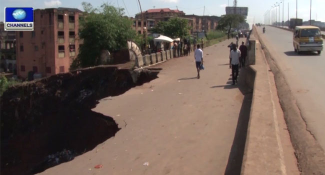 Residents Lament Poor Condition Of Major Road In Abia