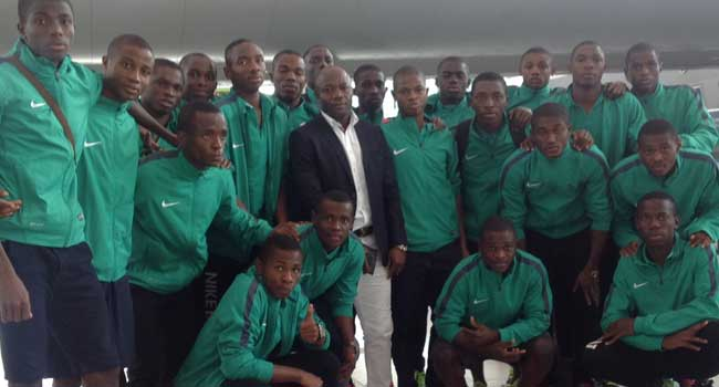 Amuneke Believes Eaglets Are Candidates For Title