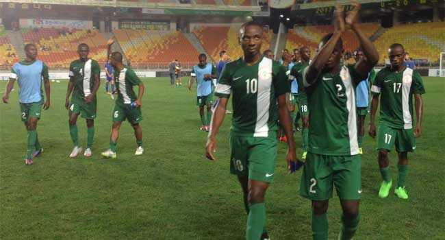 Golden Eaglets Defeat Argentine Counterparts 2-1