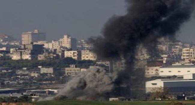 Israeli Jets Hit Targets In Gaza