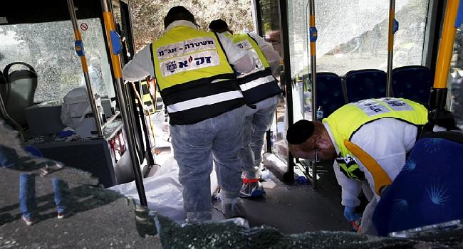 Jerusalem: Three Israeli Dead In Attack On Bus