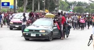 MASSOB IPOB Demonstrate for Biafra