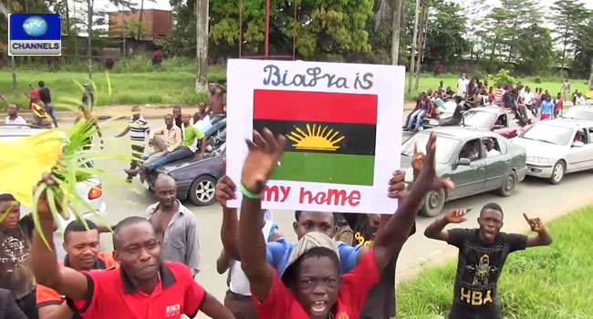 Onitsha King Asks Pro-Biafra Agitators To Stop Protests