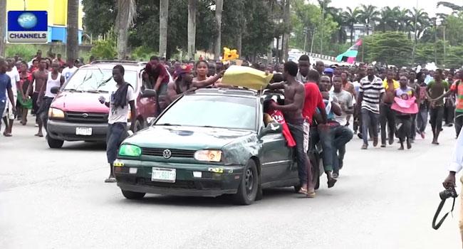 Three Feared Dead In Soldiers-Pro-Biafra Fracas
