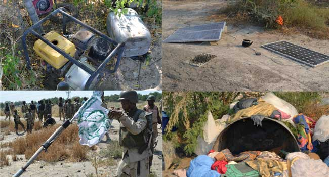 Troops Dislodge Boko Haram Terrorists From Kerenowa And Chikun Gudu