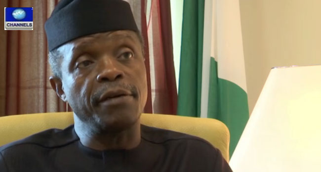Devaluation Of Naira Not Appropriate In Economic Realities – Osinbajo