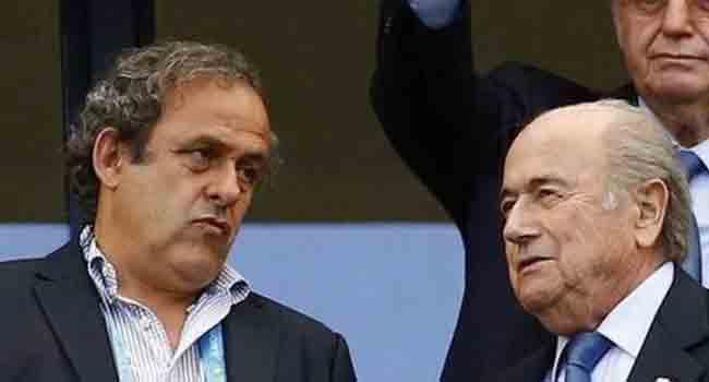 Blatter, Platini Appeal FIFA Bans