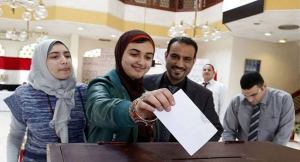 Egyptians begin elections