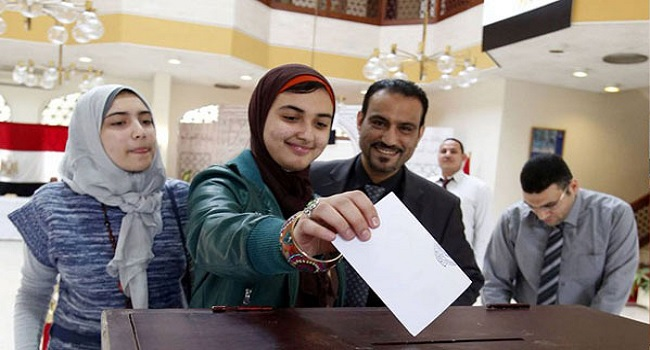 Egypt Votes In Long-Delayed Parliamentary Elections