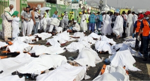 hajj stampede victims arrive iran