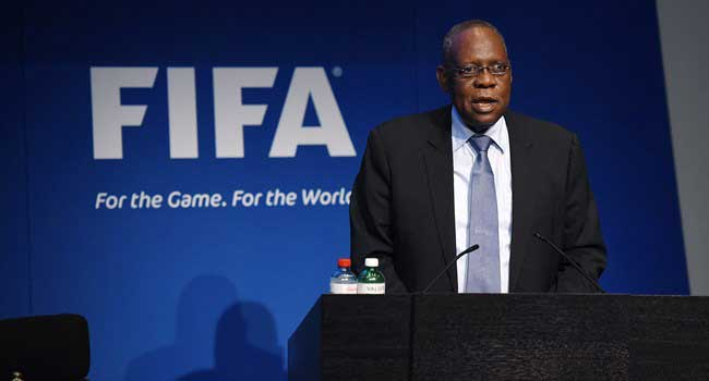 Acting FIFA President Issa Hayatou Arrives In Zurich