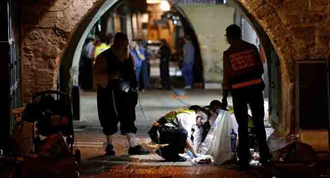 Two Israelis Killed In Jerusalem, Palestinians Banned