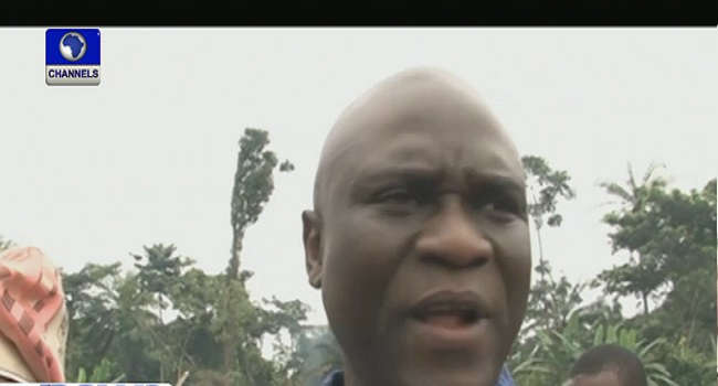 Ekiti State Commissioner for Works, Kayode Osho