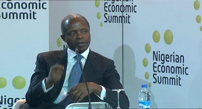Osinbajo Talks Social Intervention At Economic Summit