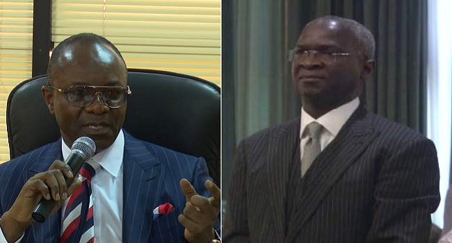 Fashola, Kachikwu, Others Resume At Ministries
