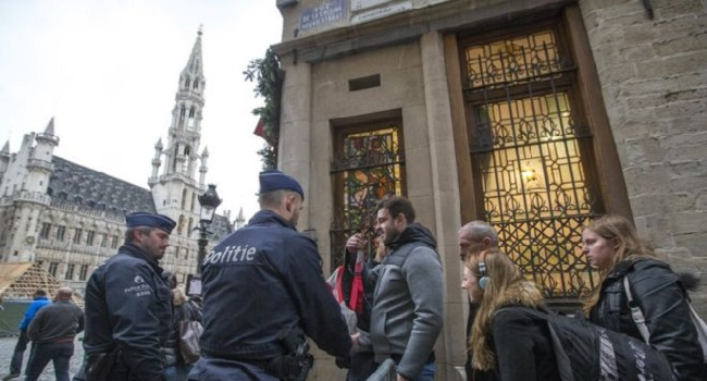 Brussels Raises Terror Alert For Fears Of Paris-Style Attack
