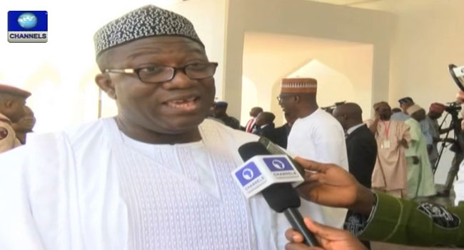 Fayose Hails Fayemi's Appointment As Solid Minerals Minister