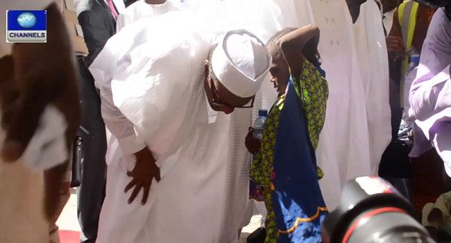 Buhari Assures IDPs Of Better Welfare