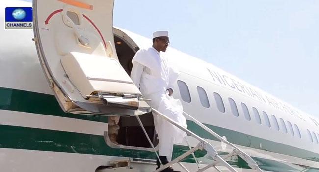 President Buhari In Edo State, Visits Oba Of Benin