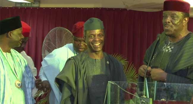 UNILAG Honours Osinbajo, Ambode, Other Former Students