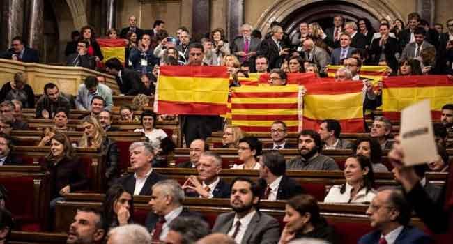 Spain Threatens To Seek Suspension Of Catalonia's Autonomy