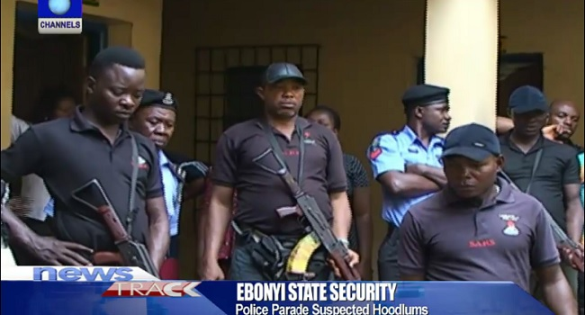 Police Arrest Suspected Criminals In Ebonyi, Recover Stolen Items