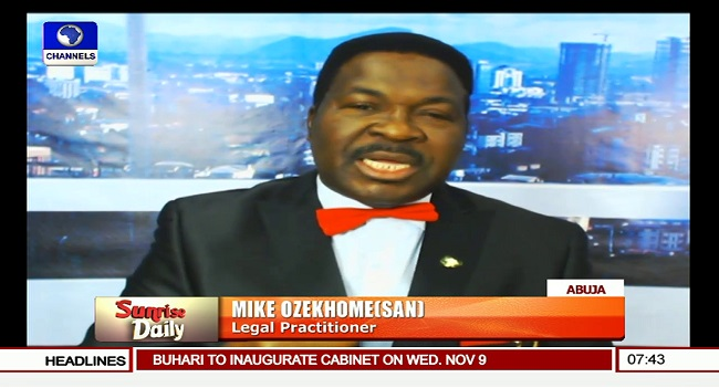 Tribunal Should Have Ordered Fresh Election In Taraba – Ozekhome