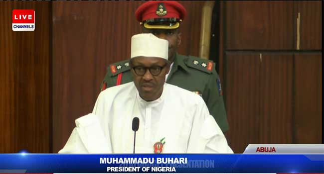 President Buhari Presents 2016 Budget To National Assembly