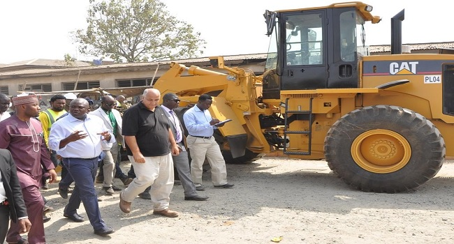 Gov. Ambode Inspects Ongoing Road Projects In Lagos