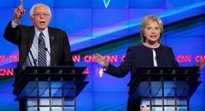 US Democratic Debate: Bernie Sanders and Hillary Clinton