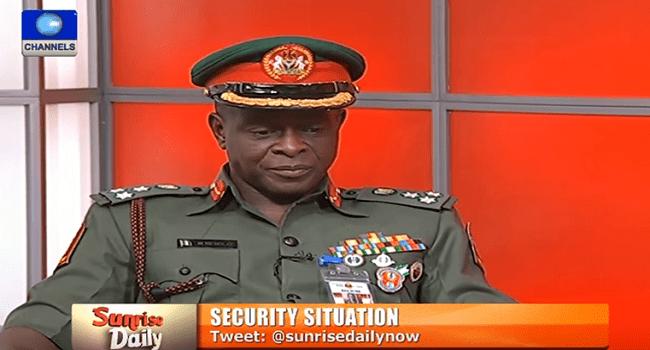 Boko Haram: Military Gives Progress Report