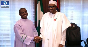 Reverend Father Ejike Mbaka and Muhammadu Buhari