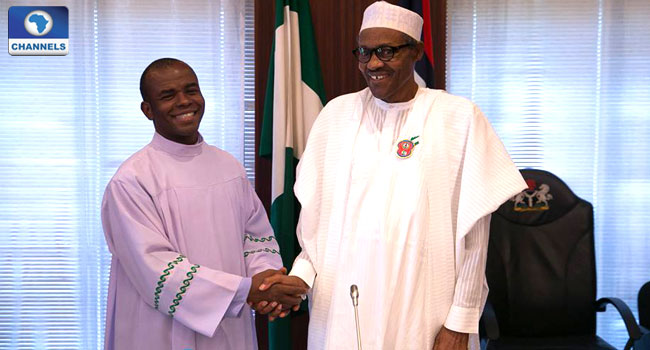 Father Mbaka Asked For Contracts As Compensation For Supporting Buhari, Presidency Alleges