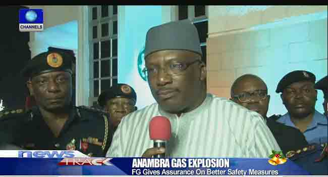 Interior Minister Visits Anambra Over Gas Plant Explosion