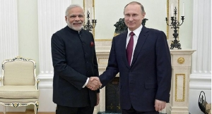 Indian And Russian Leaders