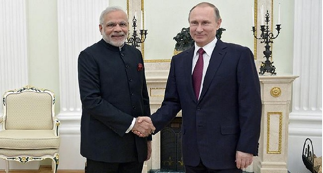 Indian And Russian Leaders Praise Partnership