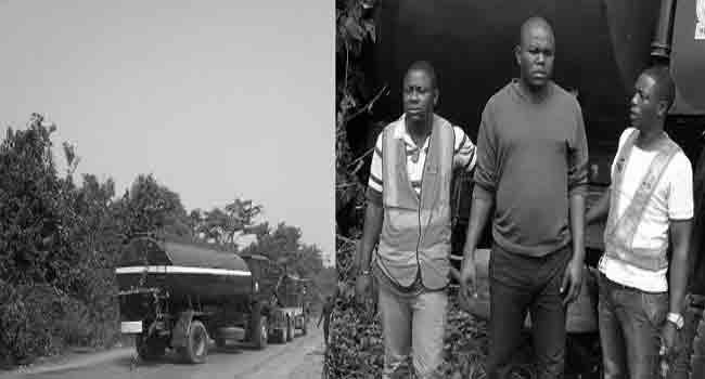 Ogun Police Intercept Tanker With Stolen Petrol