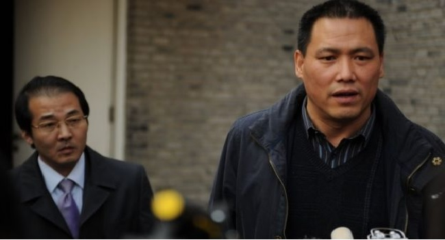 Chinese human rights lawyer gets suspended sentence