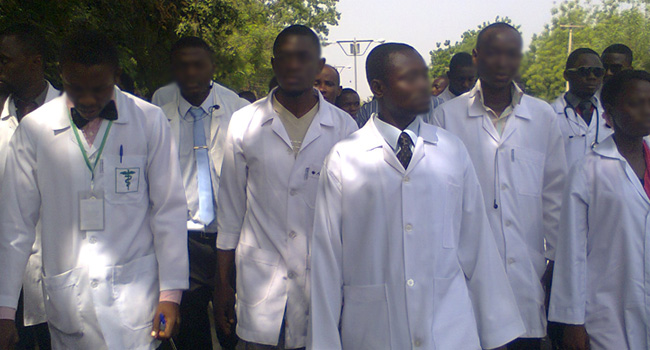HEALTH; Protesting Resident Doctors Request National Health Act Implementation